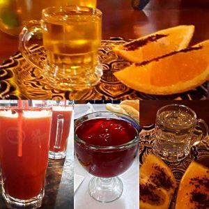Tequila - Cerveza con Clamato - Aguas frescas - Mezcal.